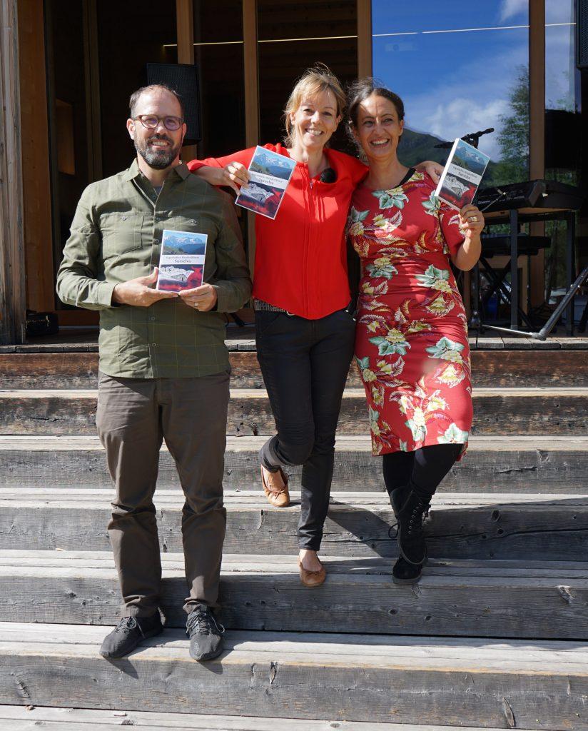 Die drei glücklichen Buchautoren