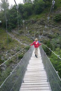 Hängebrücke Tersnauser-Tobel