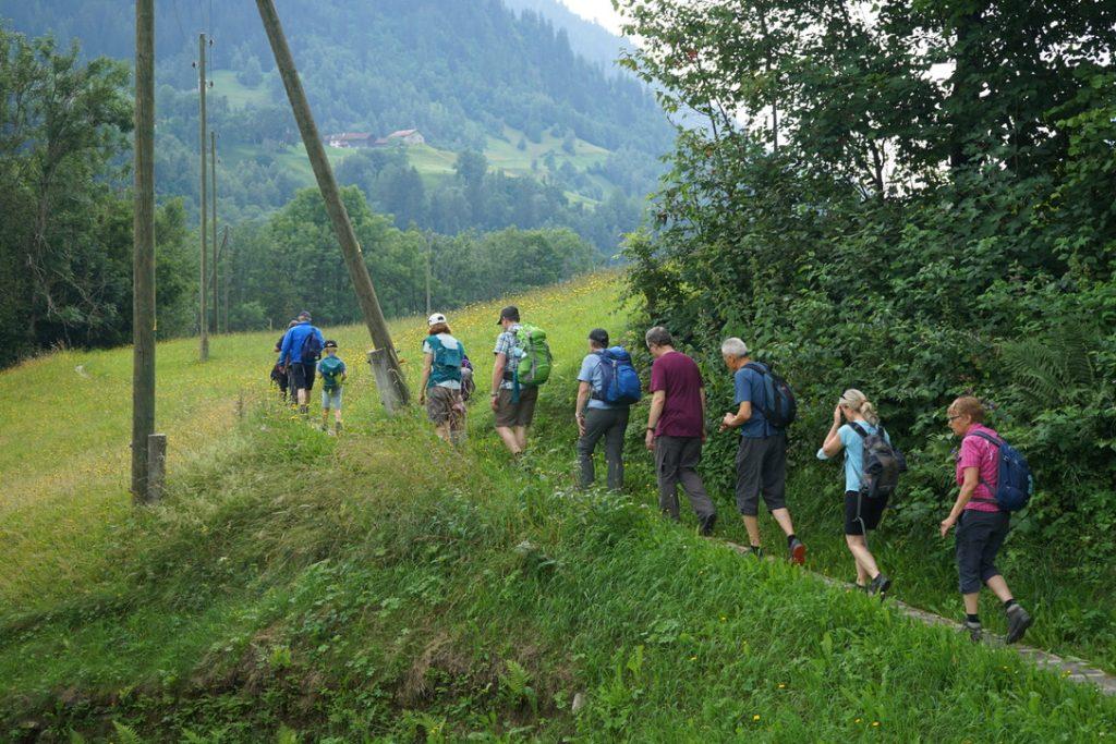 Wandergruppe Val Lumnezia