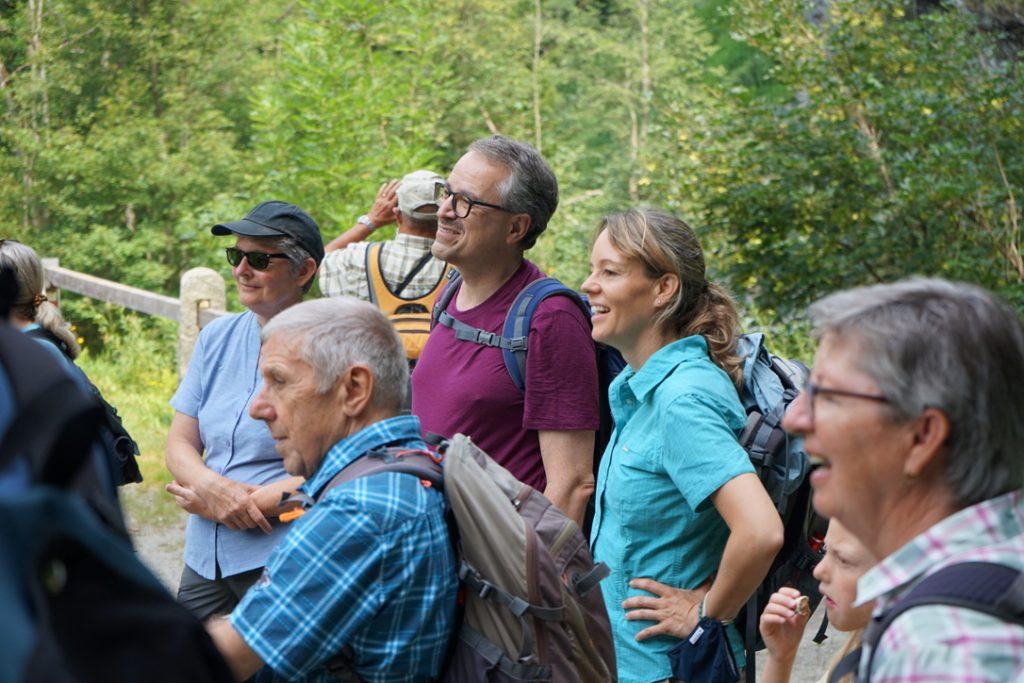 Wanderer Val Lumnezia