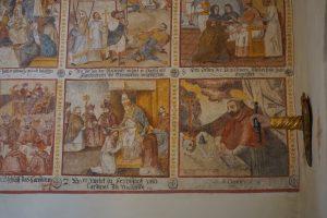 Wandmalerei Kapelle Sogn Carli, Uors