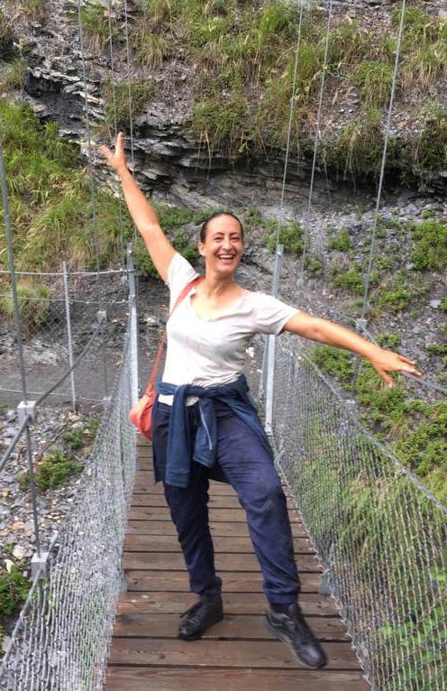 Spannende Wanderung über die Hängebrücke in der Val Lumnezia