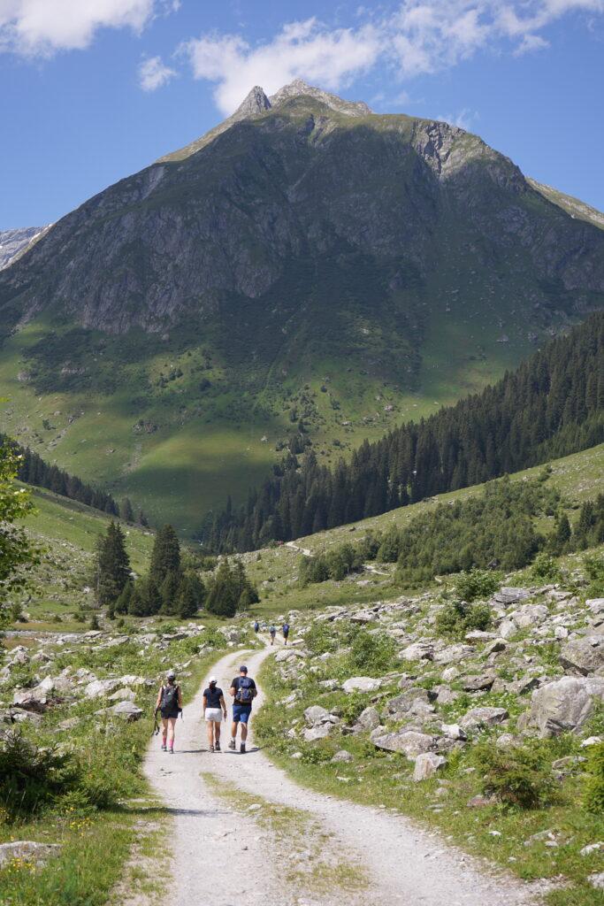 Wandern in der Val Russein, Surselva
