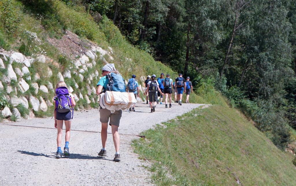 Wandern Surselva von Disentis nach Sumvitg
